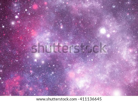 abstract illustration of outer space