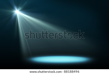Abstract image of concert lighting - stock photo