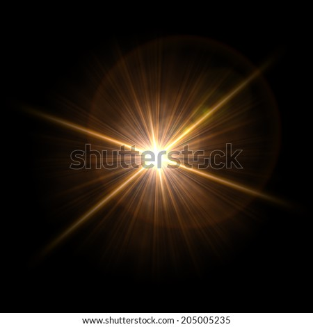 Abstract image of  lighting flare. Background. Abstract - stock photo