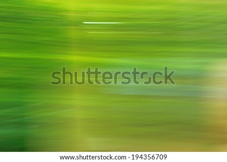 Abstract image of nature