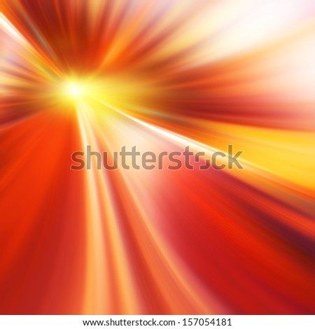 Abstract image of speed motion on the road. - stock photo