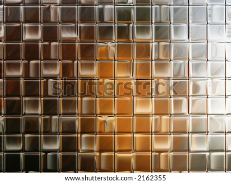 Abstract image resembling a glass wall for backgrounds or wallpaper. - stock photo