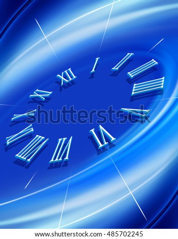 abstract image that show time, background for design