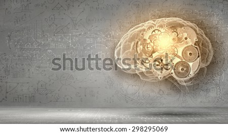 Abstract image with financial business theme and concepts - stock photo