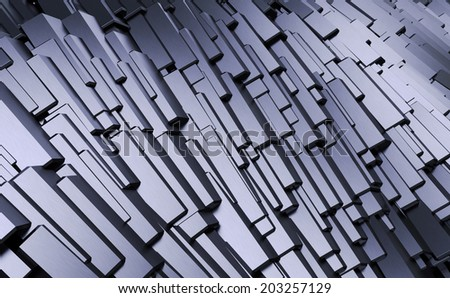 Abstract Industrial / Technology Background