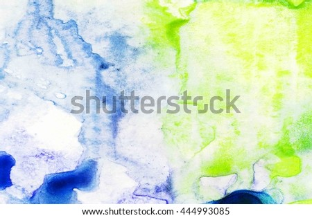 Abstract ink painting on grunge paper texture.Watercolor Wet Background. abstract watercolor.Watercolor wash. Abstract painting. marble. ink.