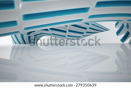 Abstract interior - stock photo