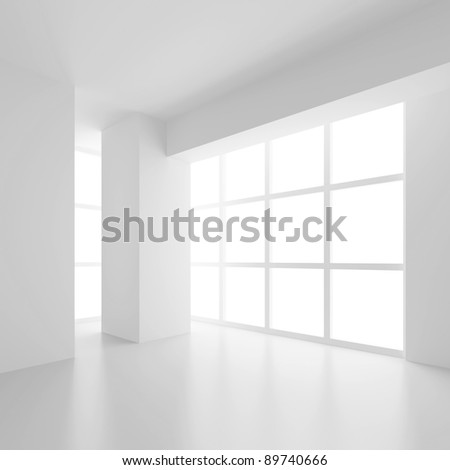 Abstract Interior Design - stock photo