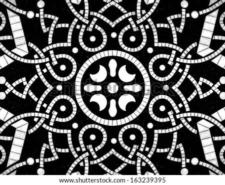 Abstract Islamic motif pattern.  - stock photo