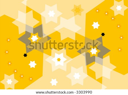 abstract jewish background with david stars
