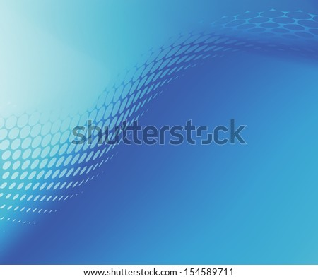 Abstract .jpg Smooth Soft Focus Blue Dots Curve Background. Created in  hi-resolution suitable for background, web banner or design element  - stock photo