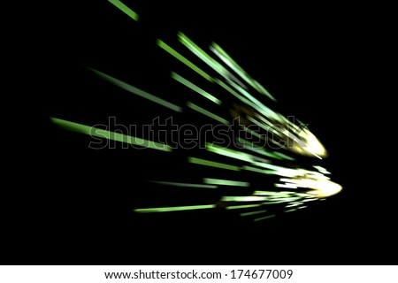 abstract laser background design - stock photo