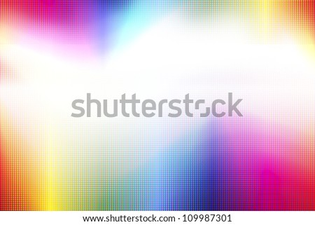 abstract led rainbow colored background. - stock photo