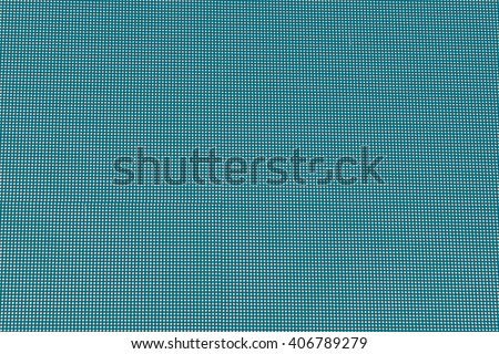 Abstract LED screen, texture background,Green retro filter - stock photo