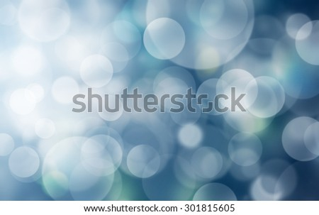 abstract light and bokeh in the night. - stock photo