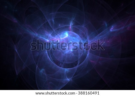Abstract light and spark background