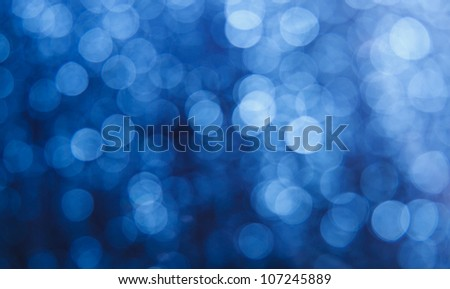 Abstract light bokeh as a background