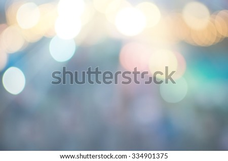 Abstract light bokeh background. - stock photo