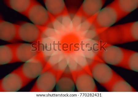 Abstract Light Bokeh Background, Abstract blurred light element that can be used for cover decoration or background, Background screen technology LED modern and beautiful, Glitter lights background.
