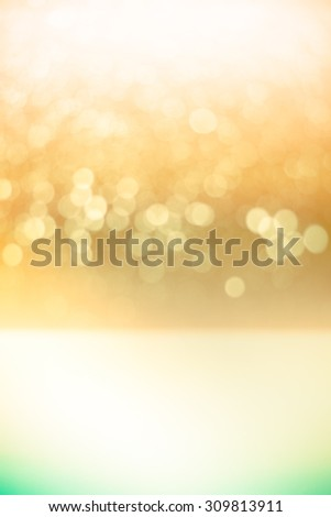 abstract light bokeh background made with color filters, soft focus