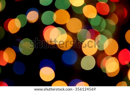 abstract light bokeh background soft focus elegant