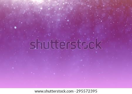 abstract light bokeh purple background - stock photo