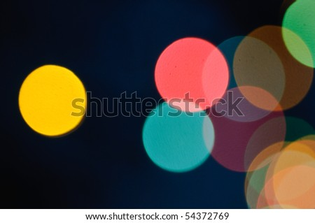 abstract light defocused background - stock photo