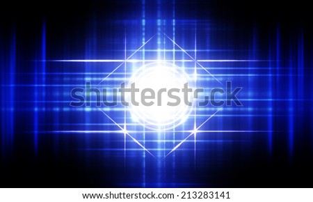 Abstract light illumination - stock photo