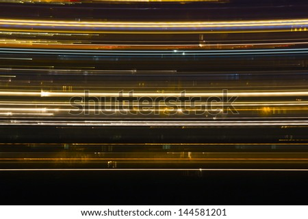 Abstract light lines . Abstract glowing colorful lines - stock photo