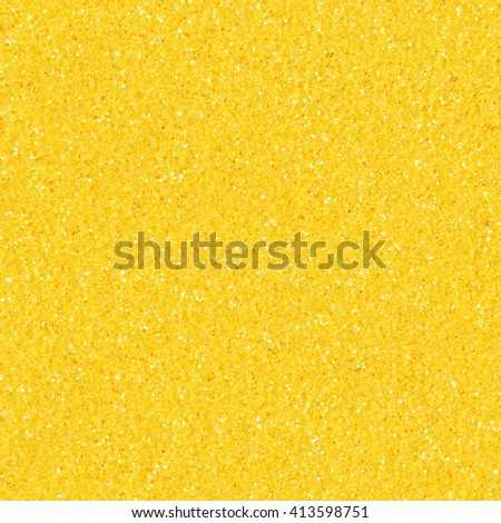 Abstract light orange glitter background. Seamless square texture. Tile ready.