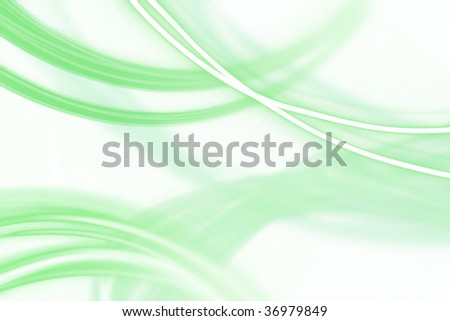 abstract light srtipes on white background - stock photo