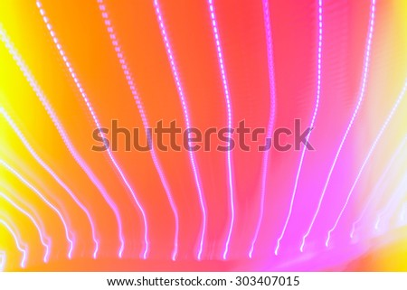 Abstract light technology background, colorful patterns design elements, futuristic fiber optics - stock photo