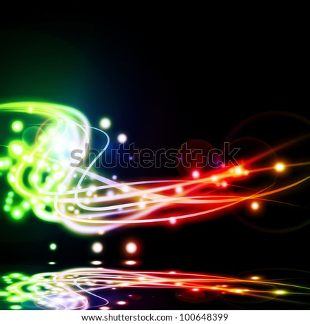 abstract lighting effect ,abstract background