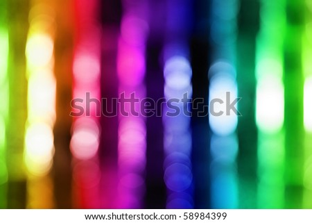 Abstract lights - stock photo
