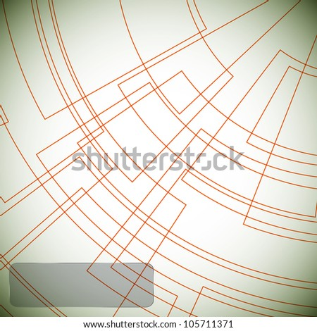 Abstract lines background. Raster version - stock photo
