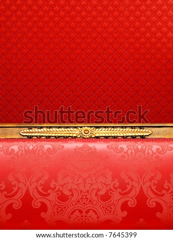 Abstract luxury fabric background - stock photo