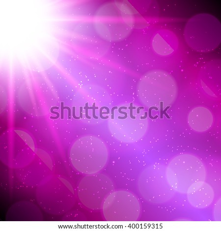 Abstract Magic Light Background Illustration  - stock photo