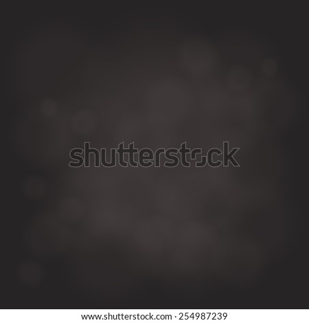 abstract magic light sky bubble blur dark background - stock photo