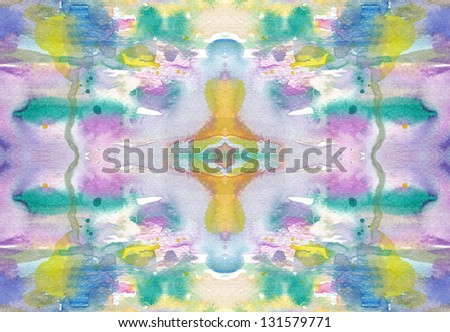 Abstract manual painted background - stock photo