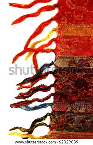 abstract material background; scarf