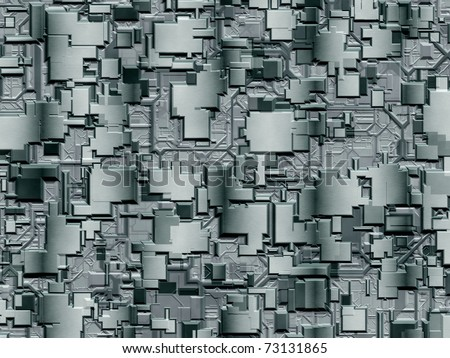 Abstract mesh texture for technology, industrial or web themes - stock photo