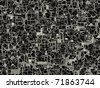 Abstract mesh texture with pipe-like web, rendered with clipping path embedded in .jpg file - stock photo