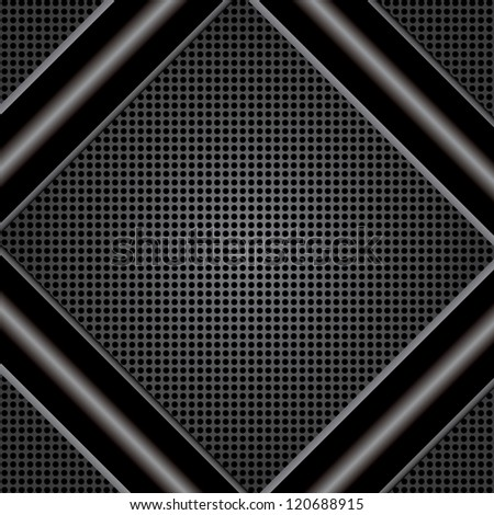 Abstract metal background on texture. - stock photo
