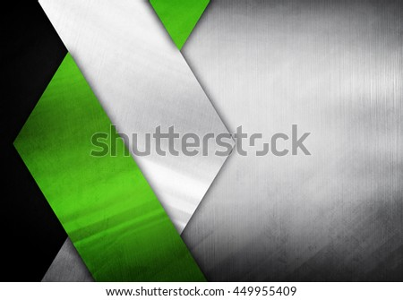 abstract metal design background - stock photo