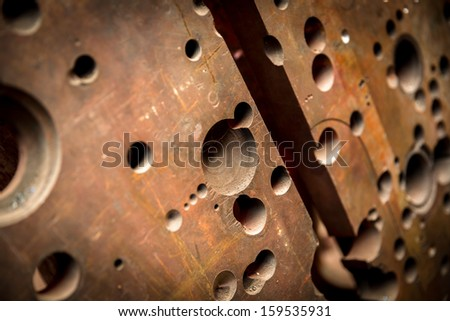 Abstract metal grunge texture