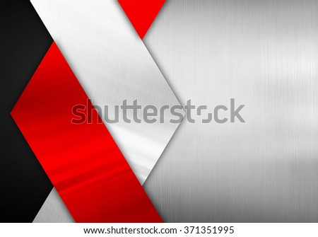 abstract metal pattern background - stock photo