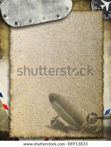 Abstract military background with space for text - stock photo