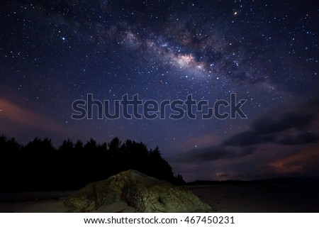 Abstract Milkyway galaxy for background purpose.
