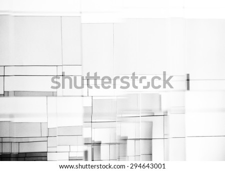 Abstract mirror background - stock photo