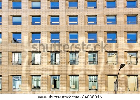 Abstract modern architecture. - stock photo